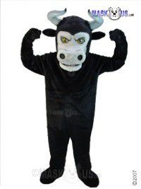 Fierce Bull Mascot Costume T0159