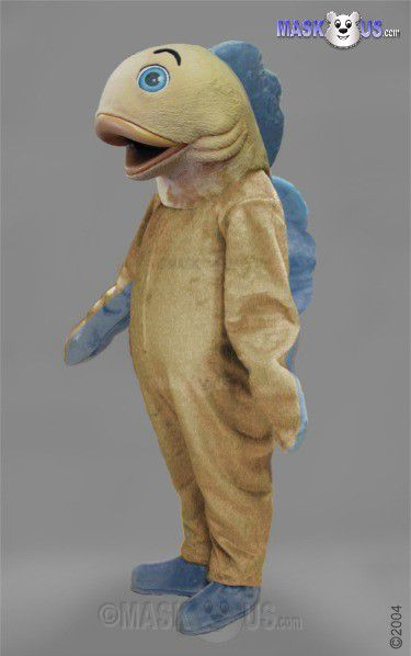 Fish deluxe adult size fish mascot costume 47700 for Fish costume adult