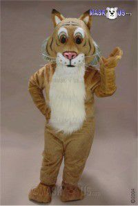 Friendly Bobcat Mascot Costume 43708