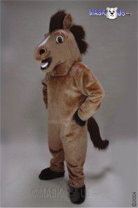 Friendly Horse Mascot Costume 27170