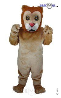 Friendly Lion Mascot Costume T0027