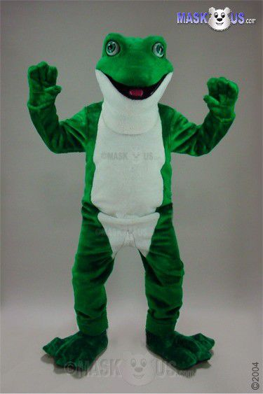 Frog Deluxe Adult Size Frog Mascot Costume 46305