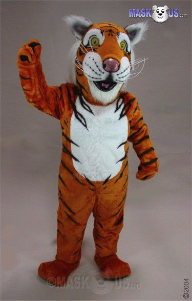 Funny tiger costume