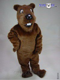 Gopher or Groundhog or Woodchuck Mascot Costume 48153