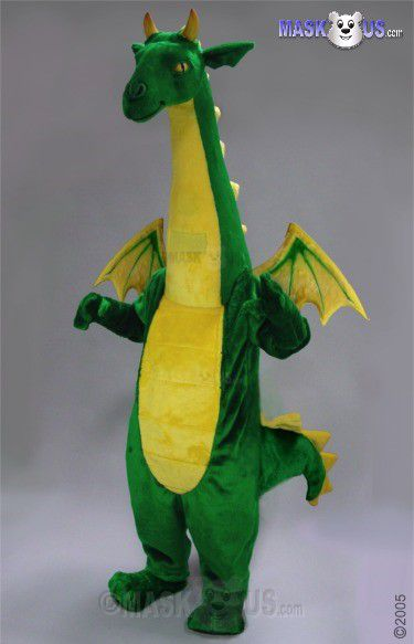 Fantasy Dragon Mascot Costume 46109