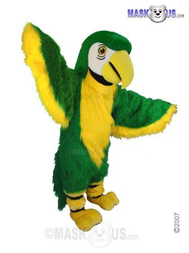 Green Parrot Mascot Costume T0151