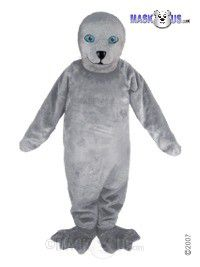 Grey Seal Mascot Costume T0116