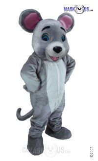 Happy Mouse Mascot Costume T0065
