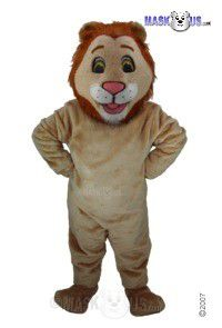 Happy Lion Mascot Costume T0028
