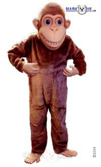 Happy Monkey Mascot Costume 43686