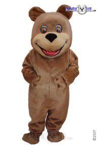 Happy Teddy Mascot Costume T0052