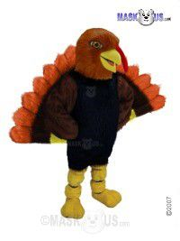 Holiday Turkey Mascot Costume T0164