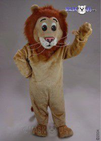 Jr Lion Mascot Costume 43077
