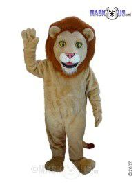 Lewis The lion Mascot Costume T0032