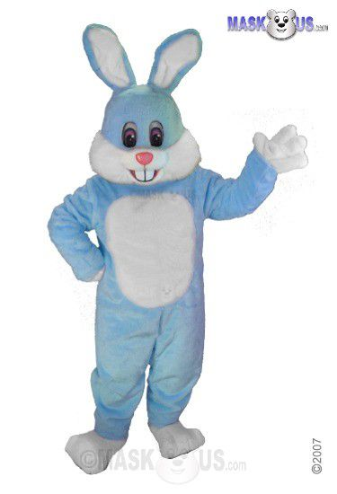 Light Blue Toon Mascot Costume T0244