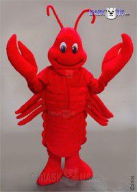 Lobster Mascot Costume 47413