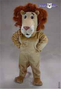Louie The Lion Mascot Costume 43375