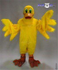 Lucky Duck Mascot Costume 22049