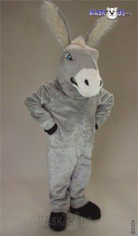 Mean Donkey Mascot Costume 47168