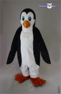 Petey Penguin Mascot Costume 42057