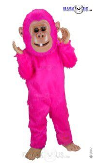 Cartoon Monkey Mascot Costume T0308
