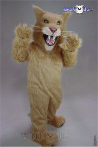 Sabre Tooth Cat Mascot Costume 43091