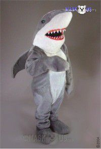 Sharky Mascot Costume 37415