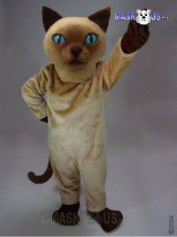 Siamese Cat Mascot Costume 43089
