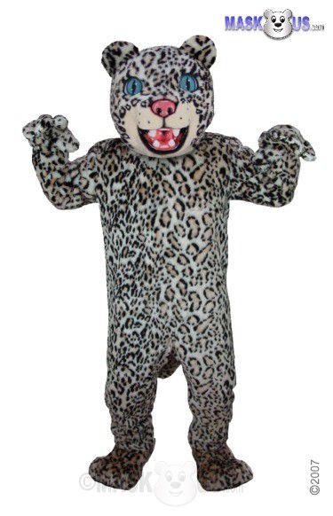 Spotted Leopard Mascot Costume T0034