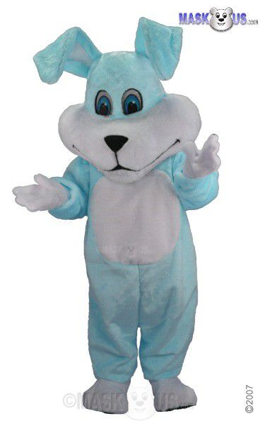 Super Blue Mascot Costume T0230