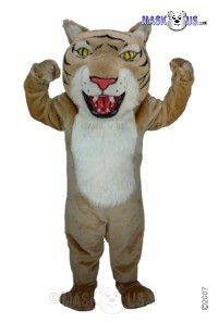 Tan Wildcat Mascot Costume T0020