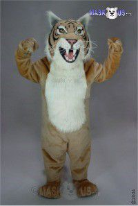 Tan Wildcat Mascot Costume 23089