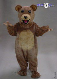 Teddy Bear Mascot Costume 41020