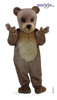 Teddy Mascot Costume T0054