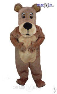 Teddy Bear Mascot Costume T0056