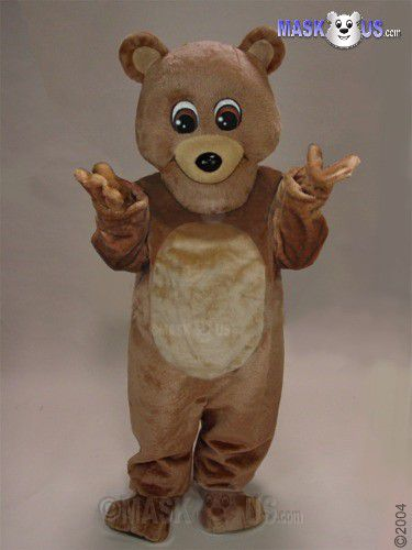 Teddy Mascot Costume 21034
