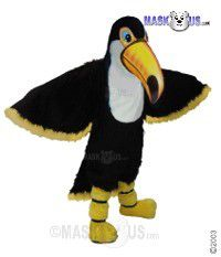 Teddy Toucan Mascot Costume 42465