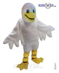 White Duck Mascot Costume T0133