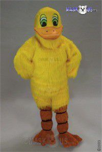 Yellow Duck Mascot Costume 22440