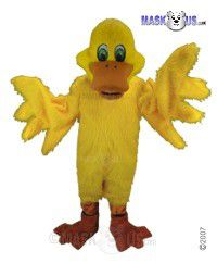 Yellow Duck Mascot Costume T0131