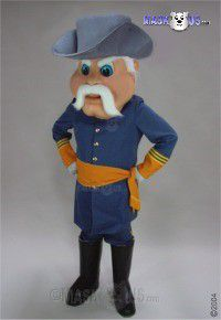 Rebel Mascot Costume 44252