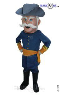 Rebel Mascot Costume T0293