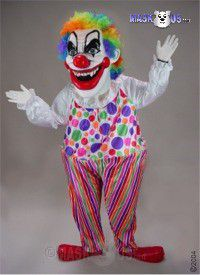Evil Clown Mascot Costume 29197