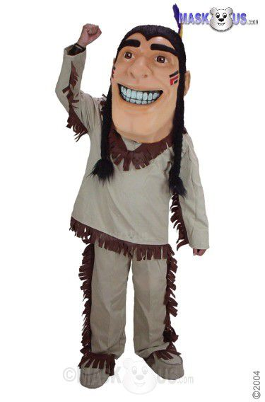 Happy Brave Mascot Costume 44301
