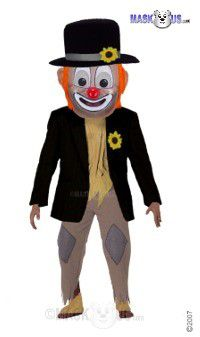Hobo Clown Mascot Costume T0287