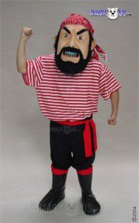 Pirate Mascot Costume 44235
