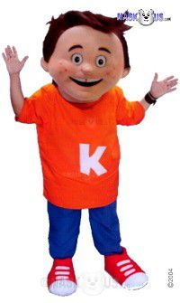 Playground Kid Mascot Costume 44126
