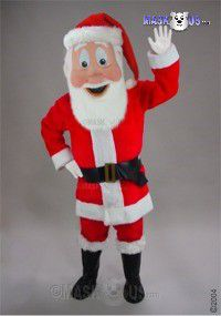 Saint Nick Mascot Costume 44331