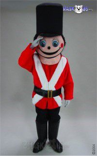 Toy Soldier Mascot Costume 44349