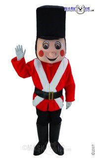 Toy Soldier Mascot Costume T0266